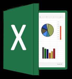 Excel Icon für Tabellenkalkulation